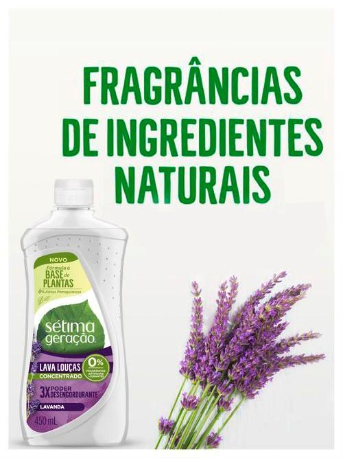 Fragrâncias de ingredientes naturais