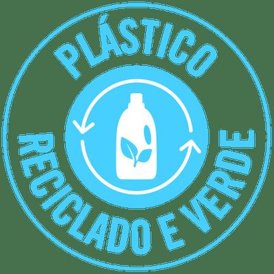 Plástico reciclado e verde